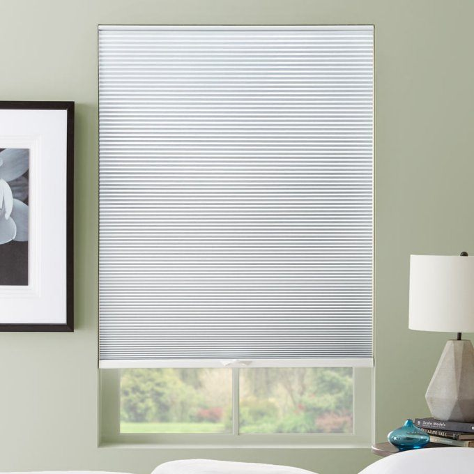 """3/8"""" Double Cell Premium Plus Light Filter Honeycomb Shades"""