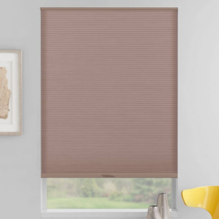 "3/8"" Double Cell (Good Housekeeping) Designer Signature Light Filtering Honeycomb Shades 5260"