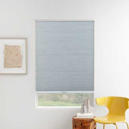 "3/8"" Double Cell (Good Housekeeping) Designer Signature Light Filtering Honeycomb Shades 5261"