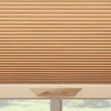 "3/8"" Double Cell Premium Plus Blackout Honeycomb Shades 4900"