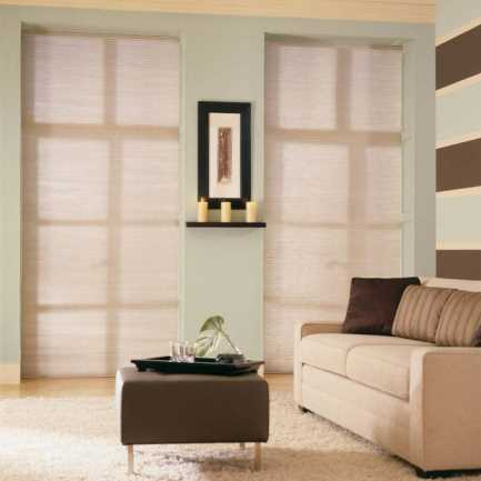 "3/8"" Double Cell Premium Plus Blackout Honeycomb Shades 4903"