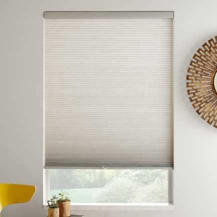 """3/8"""" Double Cell Value Cordless Light Filtering Honeycomb Shades 4916"""