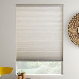 "3/8"" Double Cell Value Cordless Light Filtering Honeycomb Shades"