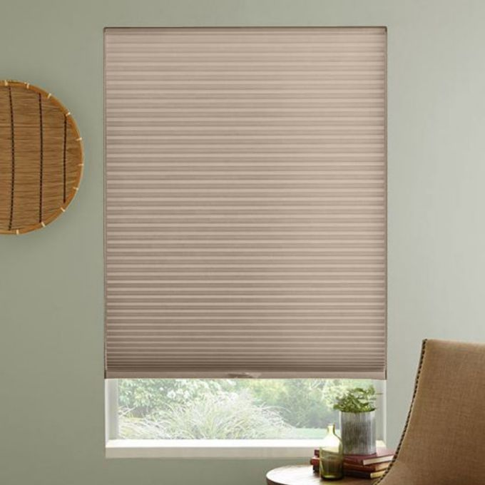 "1/2"" Double Cell Premium Light Filter Honeycomb Shades 4349"