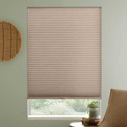 "3/8"" Single Cell Premium Light Filter Honeycomb Shades 4332"