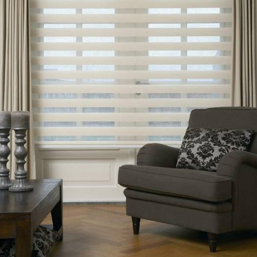 "3"" Light Filtering Sheer Shades 6263"