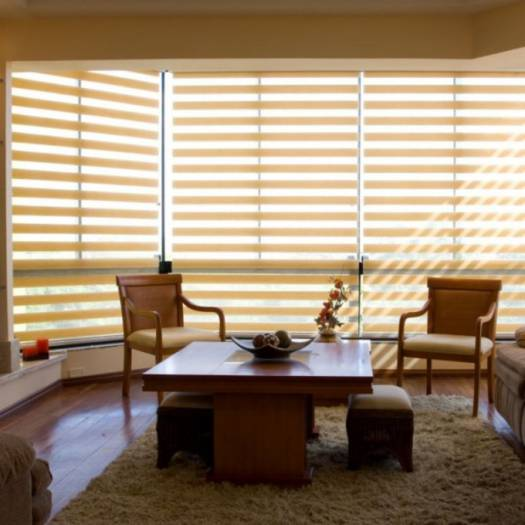 "3"" Light Filtering Sheer Shades 6264"