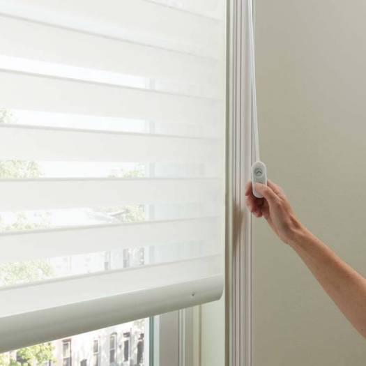 "3"" (Good Housekeeping) Designer Signature Linen Light Filtering Sheer Shades 5201"