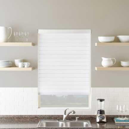 "3"" Premium Cordless Light Filtering Sheer Shades 4864"