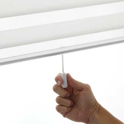 "3"" Premium Cordless Light Filtering Sheer Shades 4869"