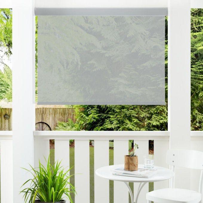 3% SheerWeave Value Outdoor Solar Roller Shades 5139