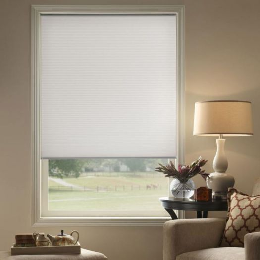 "3/8"" Double Cell (Carriann) Designer Signature Light Filtering Honeycomb Shades 4661"