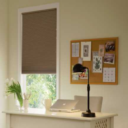 "3/8"" Single Cell Blackout Honeycomb Shades 6199"