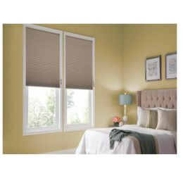 "3/8"" Single Cell Blackout Honeycomb Shades"