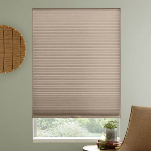"3/8"" Single Cell Premium Light Filter Honeycomb Shades 4333"