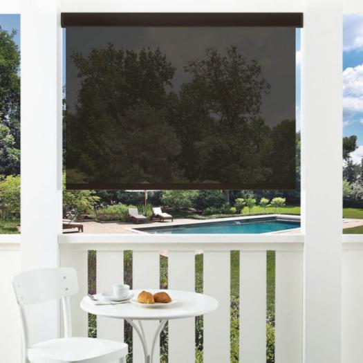 5% SheerWeave Value Outdoor Solar Roller Shades 5150