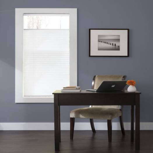 Designer Plus Cordless Top Down Bottom Up Light Filtering Pleated Shades 4430