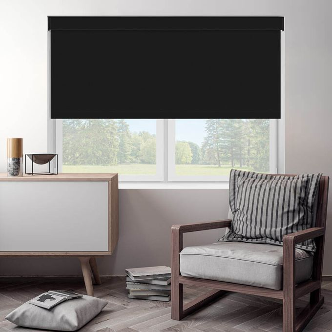 Premium Blackout Fabric Roller Shades 4203