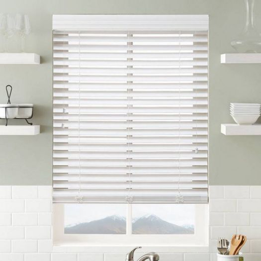 "Super Value 2"" Faux Wood Blinds 6757"