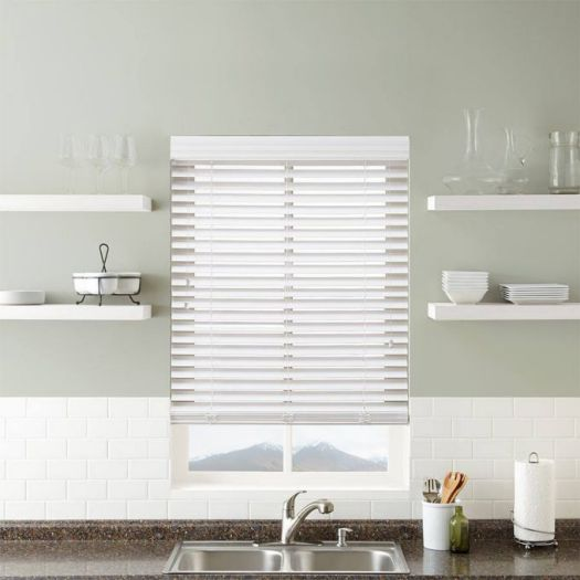 "Super Value 2"" Faux Wood Blinds 6759"