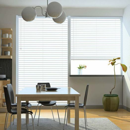 "Super Value 2"" Faux Wood Blinds 6764"