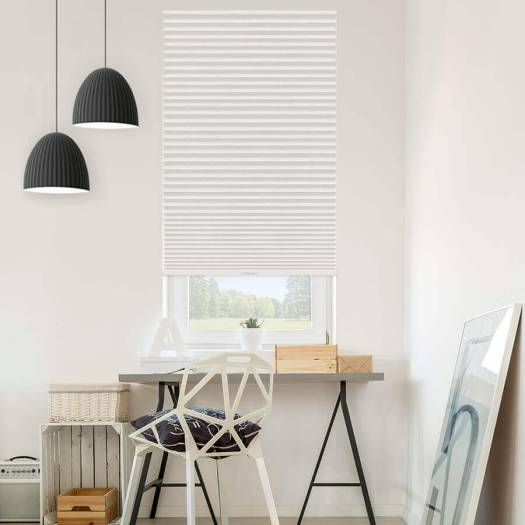 Value Plus Cordless Light Filtering Pleated Shades 4422