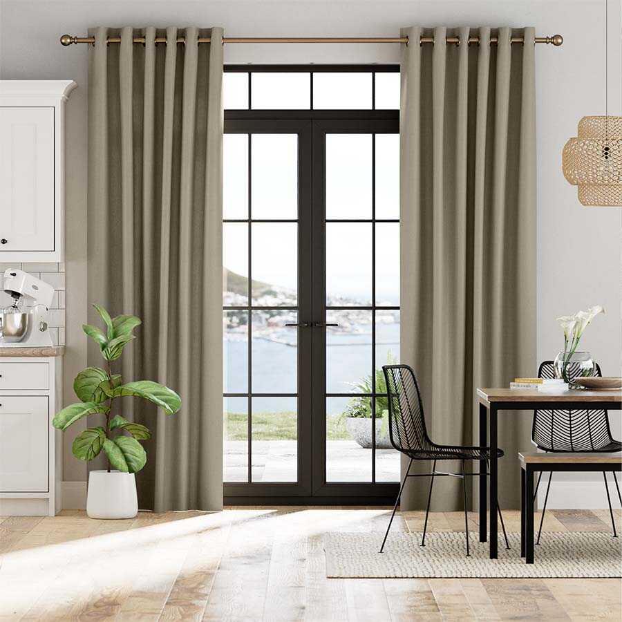 Classic Grommet Drapes/Curtains 7446