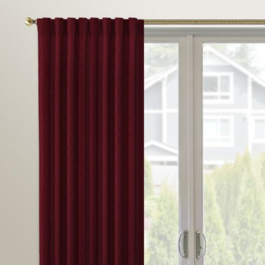 Designer Back Tab Custom Made Drapes 4952