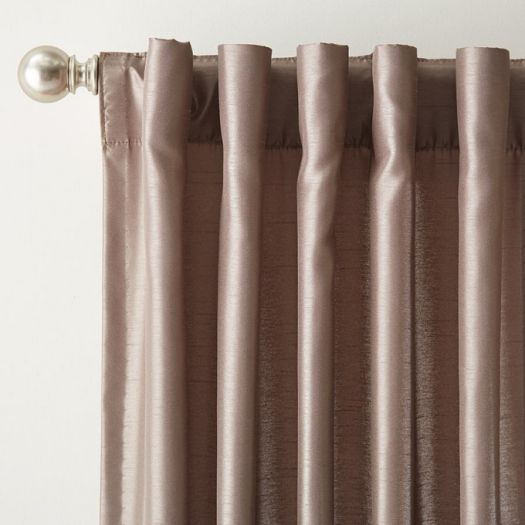 Designer Back Tab Custom Made Drapes 4953