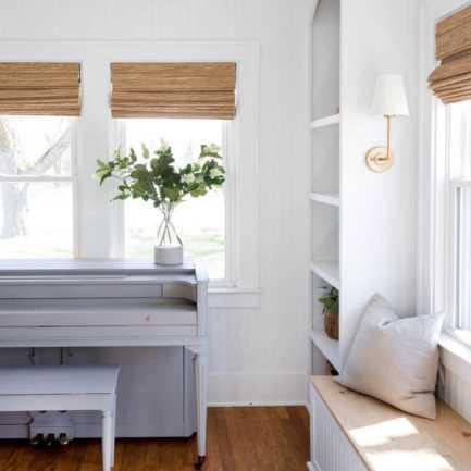 Designer Coastal Woven Wood Shades 8400 Thumbnail