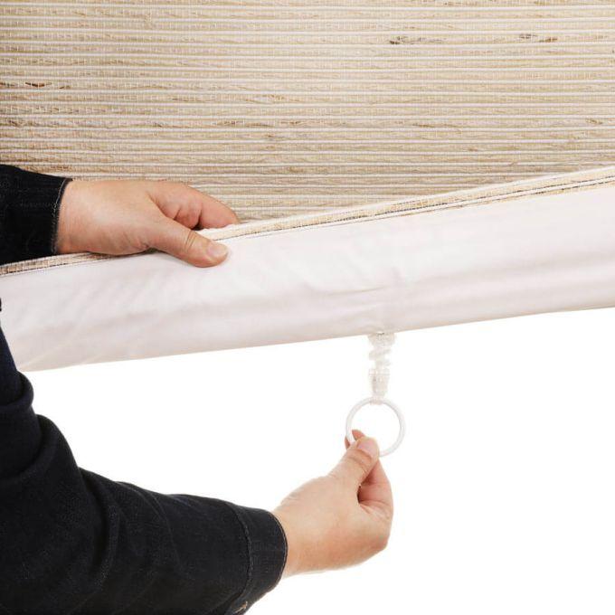 Designer Coastal Woven Wood Shades 8405