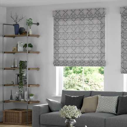 Designer Cordless Roman Shades 8743 Thumbnail