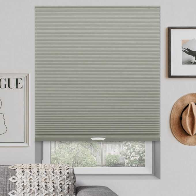 Designer Luxe Cordless Blackout Honeycomb Shades