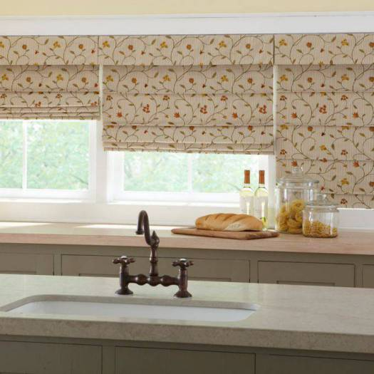 Designer Signature Blackout Roman Shades 6553