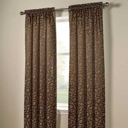 Designer Rod Pocket Custom Made Drapes 5552