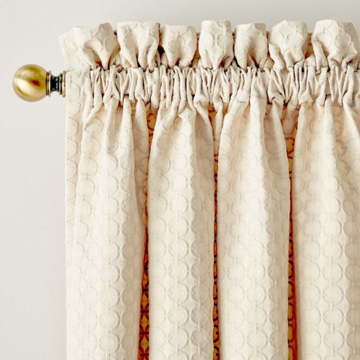 Designer Rod Pocket Custom Made Drapes 5550 Thumbnail