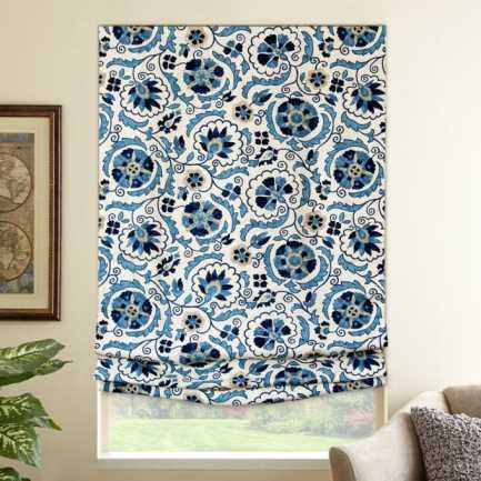 Designer Blackout Roman Shades 6531