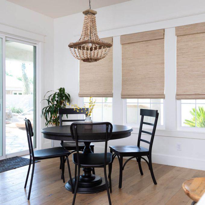 Designer Woven Wood/Bamboo Shades 8588