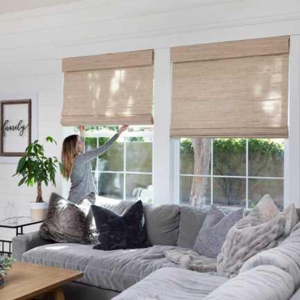 Designer Woven Wood/Bamboo Shades 8589 Thumbnail