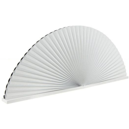Double Cell Blackout Arch Window Shades 7325 Thumbnail