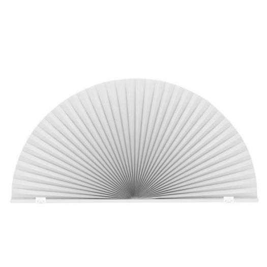 Double Cell Blackout Arch Window Shades 7328 Thumbnail