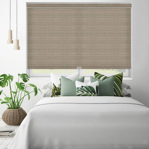 (Good Housekeeping) Designer Signature Light Filtering Fabric Roller Shades 5284 Thumbnail