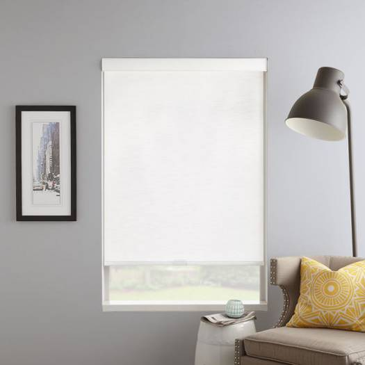 (Good Housekeeping) Designer Signature Light Filtering Fabric Roller Shades 7033