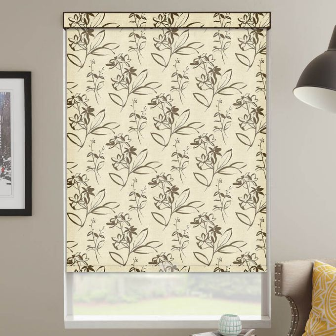 (Good Housekeeping) Designer Signature Light Filtering Fabric Roller Shades