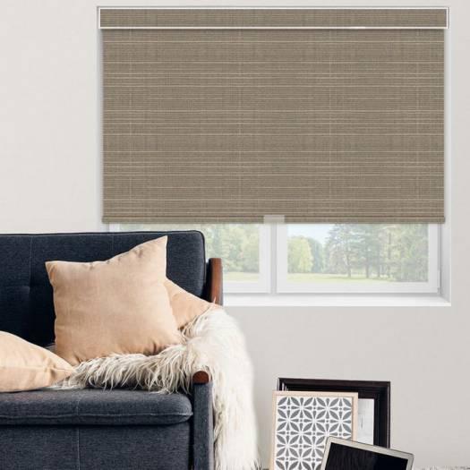 (Good Housekeeping) Designer Signature Room Darkening Fabric Roller Shades 7037