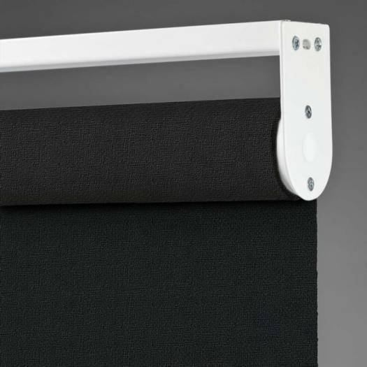 (Good Housekeeping) Designer Signature Room Darkening Fabric Roller Shades 7039