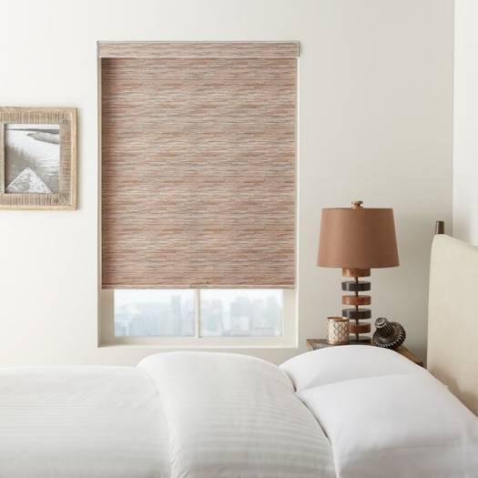 (Good Housekeeping) Designer Signature Room Darkening Fabric Roller Shades 7040