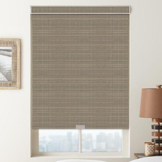 (Good Housekeeping) Designer Signature Room Darkening Fabric Roller Shades