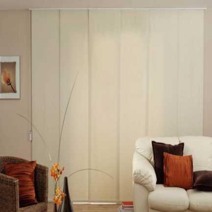Panneaux coulissants de Luxe en Toile Solaire 1% 5800