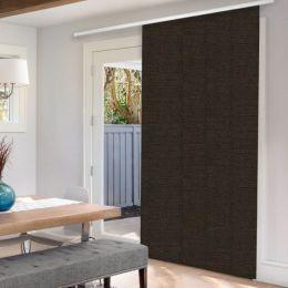 Panneaux coulissants de luxe en toile solaire 1%